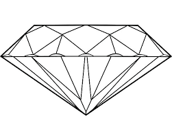 Diamond Coloring Pages Page Pictures