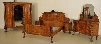 prunk schlafzimmer aus der neorenaissane gefertigt um 1920 antik kolosseum