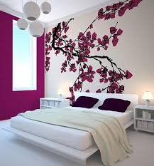 45 Beautiful Wall Decals Ideas Art And Design Decal For Bedroom Modern Japanese With Cherry Blossom Decor