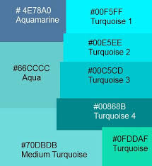Different Shades Of Teal Paint Swatches Google Search Diy