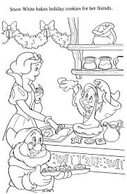 Seven Dwarfs Printable Coloring Pages Snow White The Page Disney 7