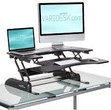 Humanscale Standing Desk Converter by Best Standing Desks Varidesk Ergotron Kangaroo Fityourspace