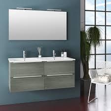 zusammensetzung mobiles badezimmer ausgesetzt 120 cm vier schubladen mit doppelwaschbecken spiegel und zwei malmö grau led len tft