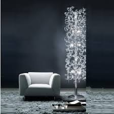 Arc Floor Lamps Contemporary by Using Halogen Torchiere Floor Lamp