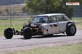 MORRIS RAT ROD AT RED CENTRE NATS - VIDEO