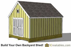 Saltbox Shed Plans 12x16 by 12x16 Cape Cod Style Shed Plans Icreatables