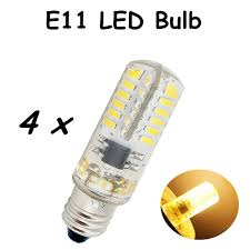 led e11 bulb 2 5w 110v l silicone coated mini e11 led