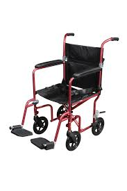 Bariatric Transport Chair 24 Seat by Flyweight Lightweight Transport Wheelchair With Removable Wheels