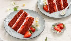 rezept für natürlich bunten velvet cake