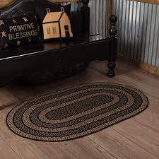 western country braided primitive floor mat barn 20 x
