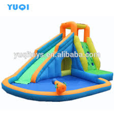 Commercial Inflatable Pool Slide Used Water For Kids And Adults