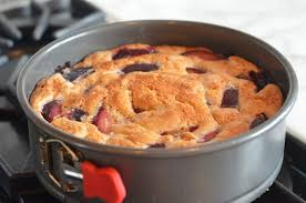 When The Cake Is Hot Out Of Oven Run A Knife Around Edges Pan And Then Remove Springform Edge Leave Base In Place