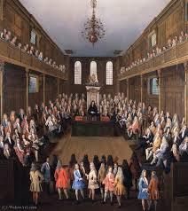 chambre des communes chambre des communes en session de tillemans 1684 1734