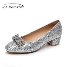 online get cheap silver rhinestone heels aliexpress com alibaba