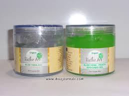 Rustic Art Organic Aloe Vera Peach Avocado Gels Review