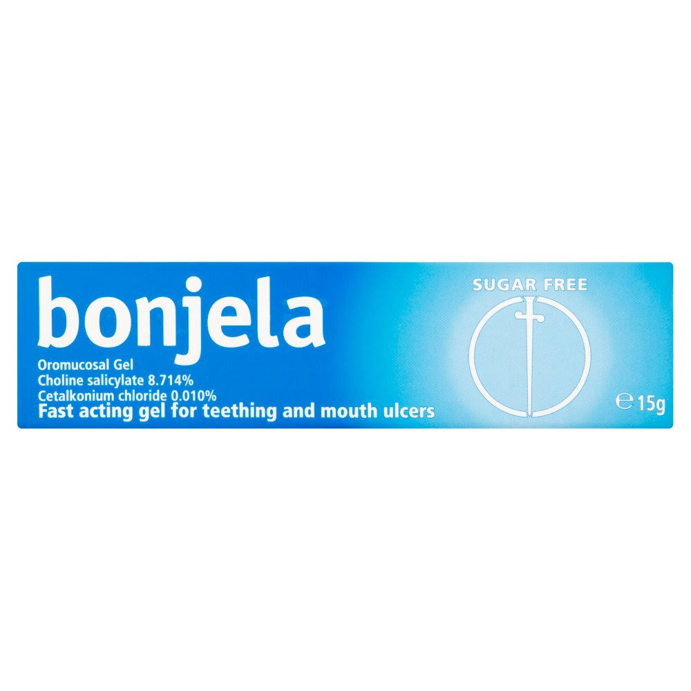 Bonjela Mouth Ulcer & Teething Gel - 15g