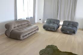 canap cassina canapé fauteuils soriana vintage par tobia scarpa pour cassina en