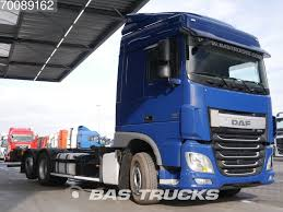 DAF XF 460 6X2 Intarder Liftachse Euro 6 German-Truck Container ...