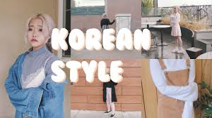 Korean Winter Street Style Inspired Lookbook
