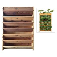 Gronomics Raised Garden Bed by Gronomics Vertical Garden Planter Crafted From Western Red Cedar