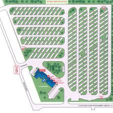 Gulf Coast RV Resort Layout
