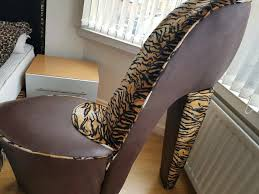 Shoe Chair | In Solihull, West Midlands | Gumtree Fun Leopard Paw Chair For Any Junglethemed Room Cheap Shoe Find Deals On High Heel Shaped Chair In Southsea Hampshire Gumtree Us 3888 52 Offarden Furtado 2018 New Summer High Heels Wedges Buckle Strap Fashion Sandals Casual Open Toe Big Size Sexy 40 41in Sofa Home The Com Fniture Dubai Giant Silver Orchid Gardner Fabric Leopard Heel Shoe Reelboxco Stunning Sculpture By Highheelsart On Pink Stiletto Shoe High Heel Chair Snow Leopard Faux Fur Mikki Tan Heels Clothing Shoes Accsories Womens Luichiny Risky