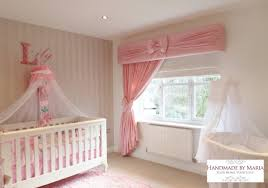 Pink Ruffle Curtains Uk by Pelmets U0026 Curtains Made To Measure Handmade By Maia