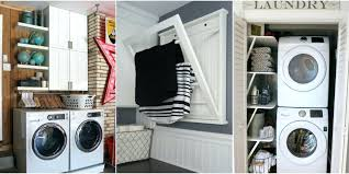 small laundry closet ideas stunning laundry closet shelves create