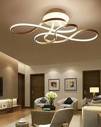 led modern deckenleuchten kreative deckenle persönlichkeit weiß acryl schienensystem artistic design 4500k 220v wohnzimmerleuchte