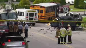 2 School Buses, 3 Vehicles Involved In Torrington Crash - NBC ...