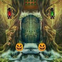 Halloween Escape Walkthrough by 8b Halloween Scared Cat Escape Walkthrough
