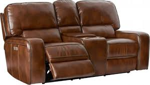 Living Room Loveseats Leather Reclining Motion Upholstered