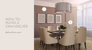 Kitchen Island Lighting Off Center Unique What Size Dining Room Chandelier Do I Need A Sizing Guide From