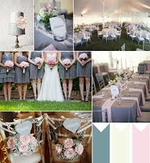 Dusty Grey And Pink Wedding Ideas 2014