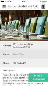 Harborside Grill And Patio Hyatt Harborside Menu by New App Mobilesuites May Turn Out To Be Useful Miles From