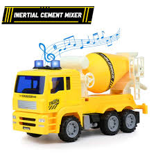 100 Cement Mixer Toy Truck Tractor Cars With Light And Sound
