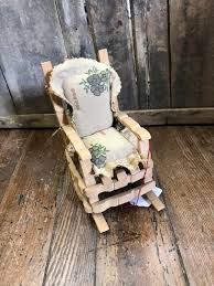 Clothespin Rocking Chair | Clothes Pin Wreath | Rocking Chair, Chair ...