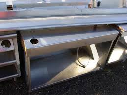 Stainless Steel Fish Cleaning Station With Sink by Fish Tables A Z Restaurant Equipment Buy Sell Trade
