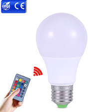 rgb led bulbs light e27 3w 5w 7w led dimmable bulb multicolor