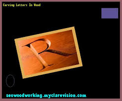 Best 25 Carving letters in wood ideas on Pinterest