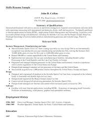 Resume Summary Examples Communication With Short Example