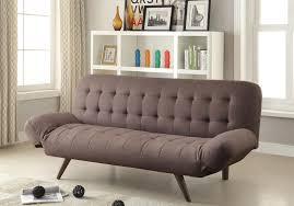 Tufted Velvet Sofa Bed by Furniture Khaki Tufted Velvet Couch Wih Wood Legs For Living Room
