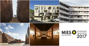 100 Van Der Architects 5 Finalists Selected For The 2017 EU Prize For Contemporary