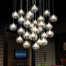 glass chandelier 31 on interior decor home with for