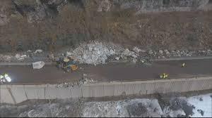 100 I 70 Truck Stops Reopened N Glenwood Canyon After Rock Slide CBS Denver