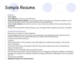 References For Resume Examples Upon Request Curriculum Vitae