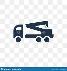 100 Used Tow Trucks Truck Vector Icon Isolated On Transparent Background