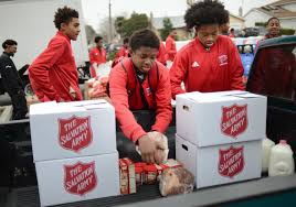 The Salvation Army Spreads Holiday Cheer By Distributing Meals, Toys