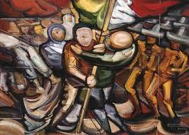 david alfaro siqueiros 1896 1974 proyecto para el mural del