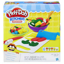 Play Doh Kitchen Creations Shape n Slice Set Toys